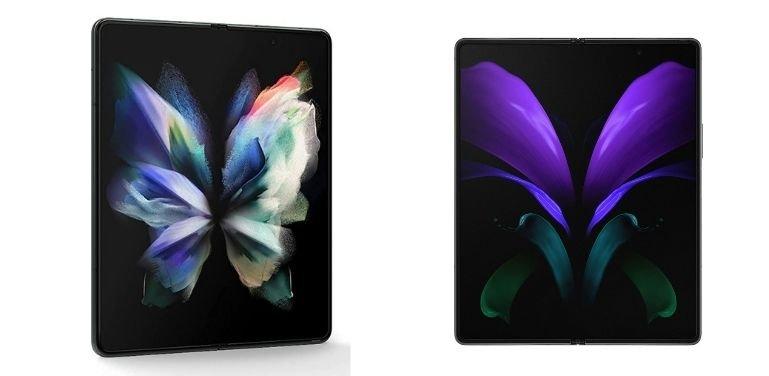 Galaxy Z Fold 3 vs Z Fold 2 hardware