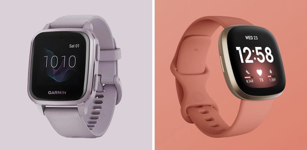 Garmin Venu Sq vs Fitbit Versa 3 Smartwatch Comparison