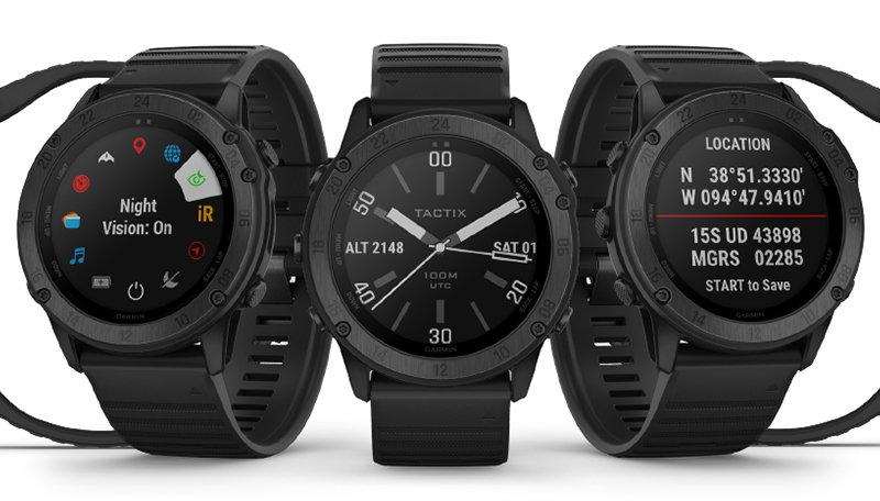 Garmin tactix Charlie vs Delta Smartwatch Battery Life