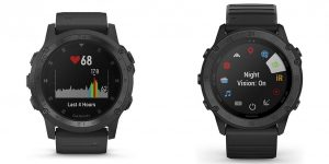Garmin tactix Charlie vs Delta Smartwatch Comparison
