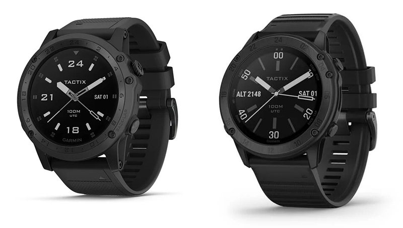 Garmin tactix Charlie vs Delta Smartwatch Design