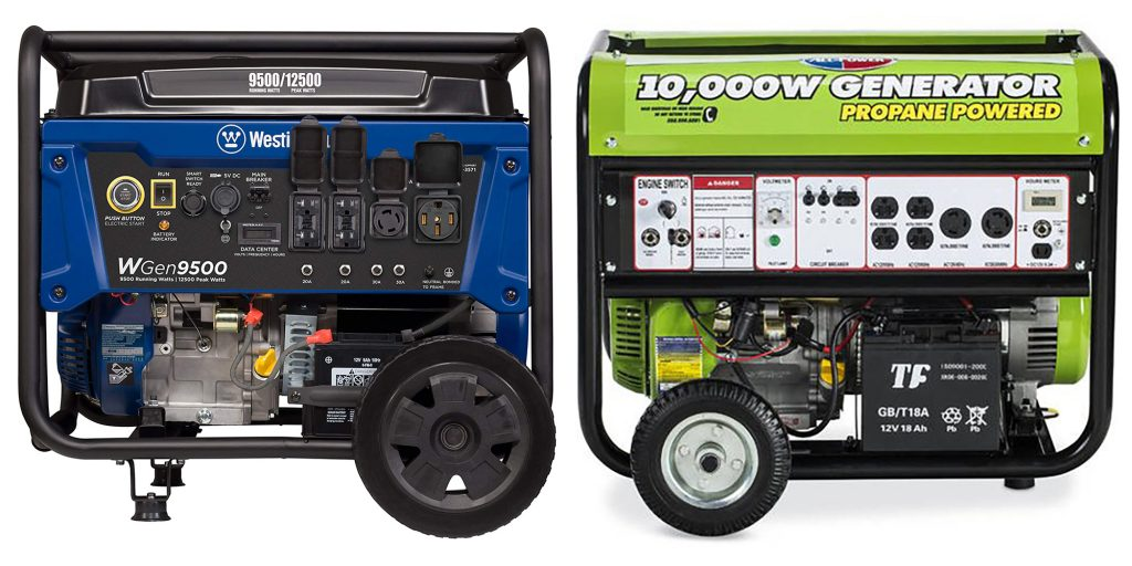 Gas vs Propane Generator Engine and Power