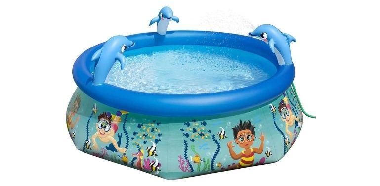 H20G0! Above-Ground Pool design
