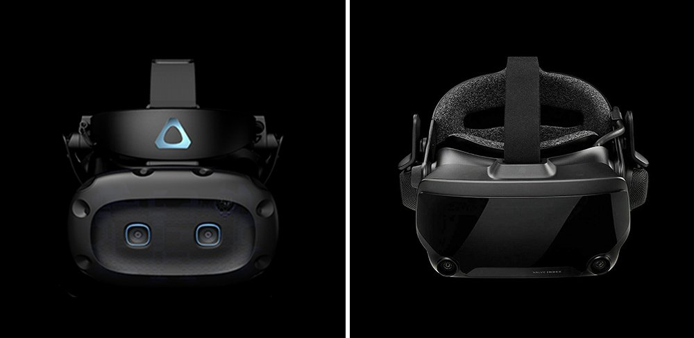 HTC Vive Cosmos Elite vs Valve Index VR Headset Comparison