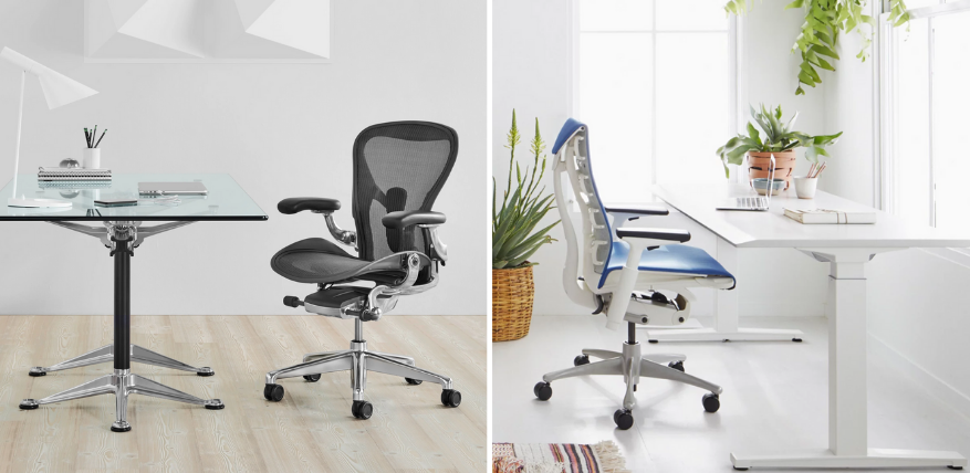 Herman Miller Aeron vs Embody Chair