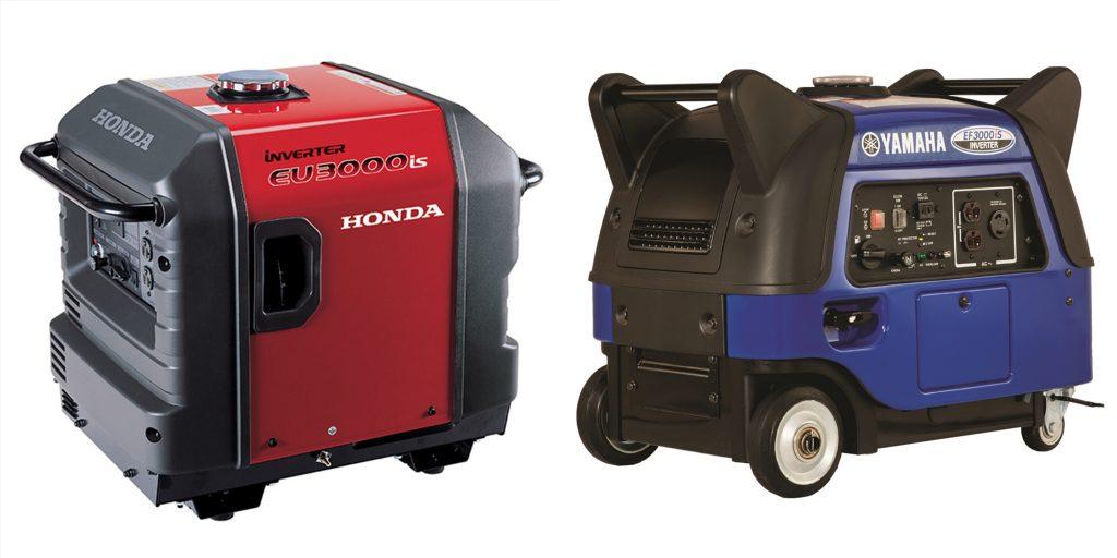 Honda vs Yamaha Generator Engine and Power