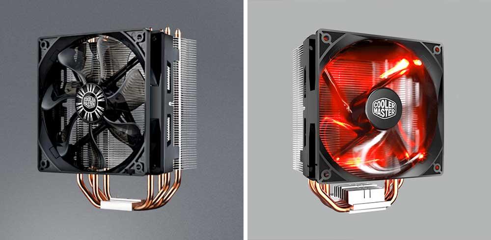 Cooler Master Hyper 212 Evo vs Hyper 212 LED Comparison