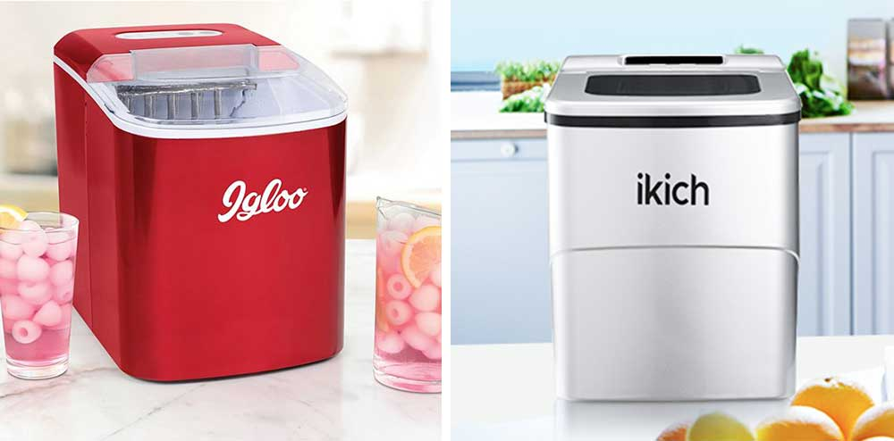 Igloo vs IKICH Ice Maker Comparison