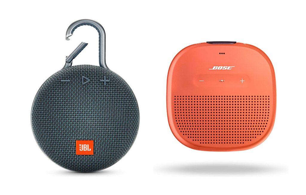 JBL Clip vs Bose SoundLink Micro Design