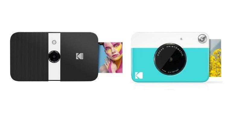 Kodak Smile vs Kodak Printomatic design