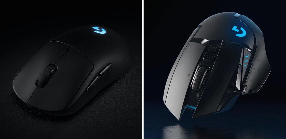 Logitech G PRO vs G502 Wireless Gaming Mouse Comparison