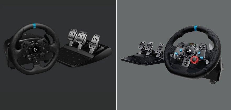 Logitech G923 vs G29 featured