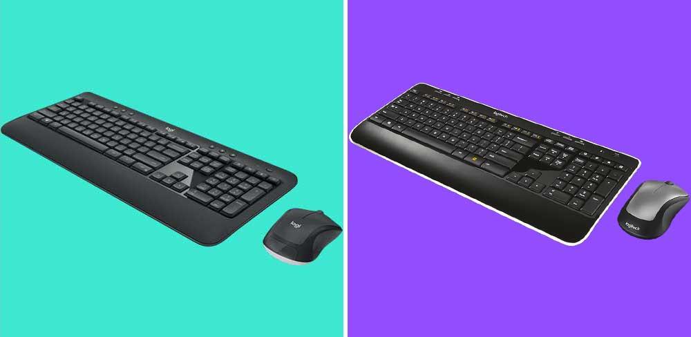 Logitech MK540 vs MK520 Keyboard Mouse Comparison