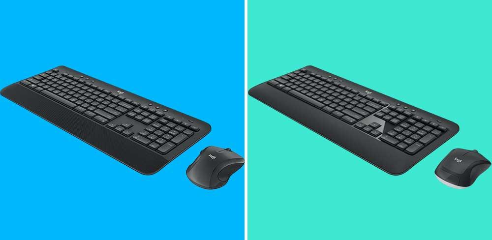 Logitech MK545 vs MK540 Keyboard and Mouse Combo