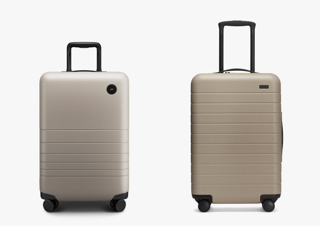 Monos Luggage vs Away Carry-On Design