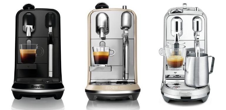 Nespresso Creatista Uno vs Plus