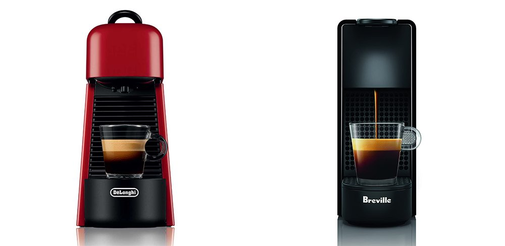 Nespresso Essenza Plus vs Mini Coffee Machine Comparison
