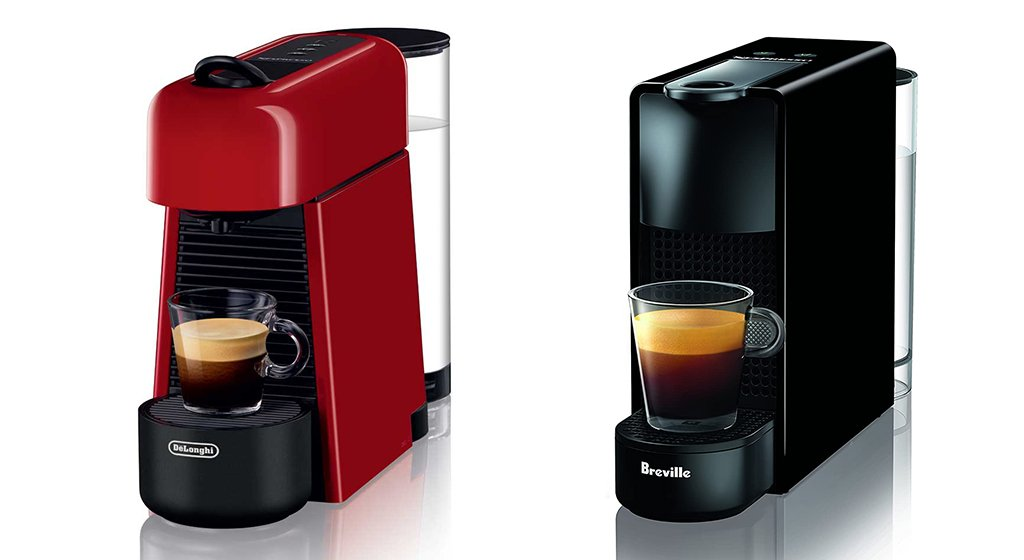 Nespresso Essenza Plus vs Mini Design