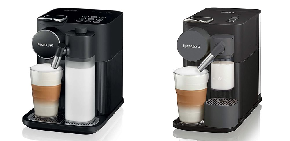 Nespresso Gran Lattissima vs Lattissima One Original Espresso Machine Comparison