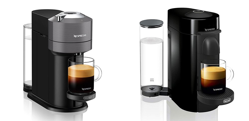 Nespresso Vertuo Next vs Plus - Coffee and Espresso Machine Comparison
