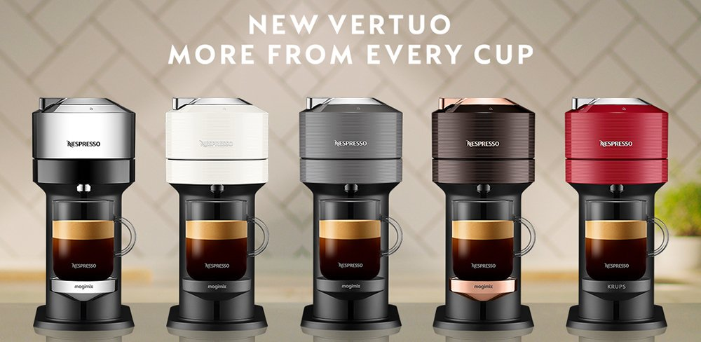 Nespresso Vertuo Next vs VertuoLine Comparison