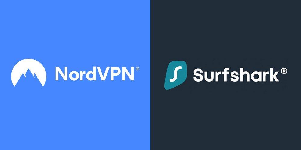 NordVPN vs Surfshark VPN Comparison