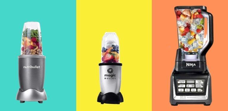 NutriBullet vs Magic Bullet vs Ninja Product Comparison