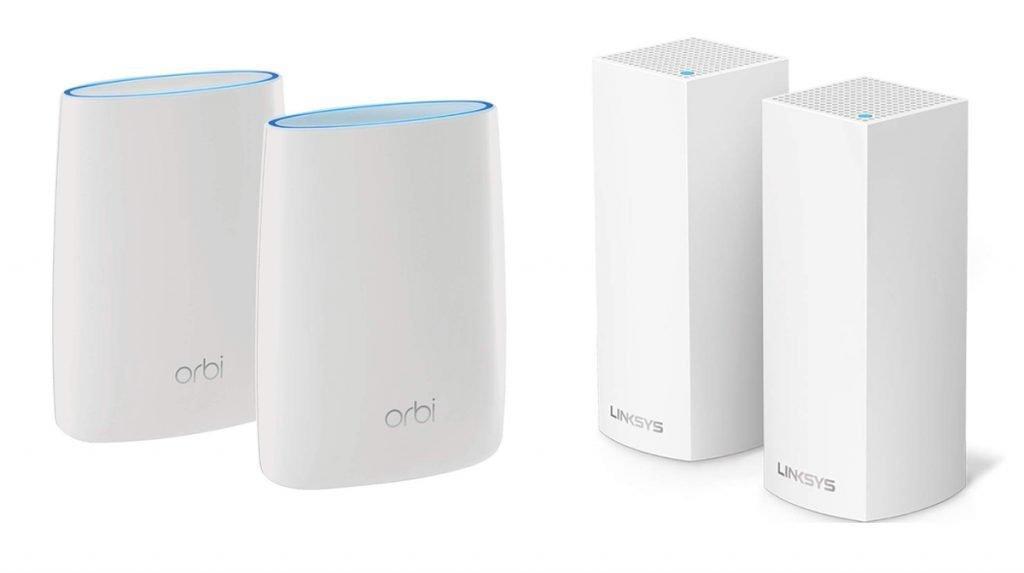 Orbi vs Velop WiFi Mesh Router Design