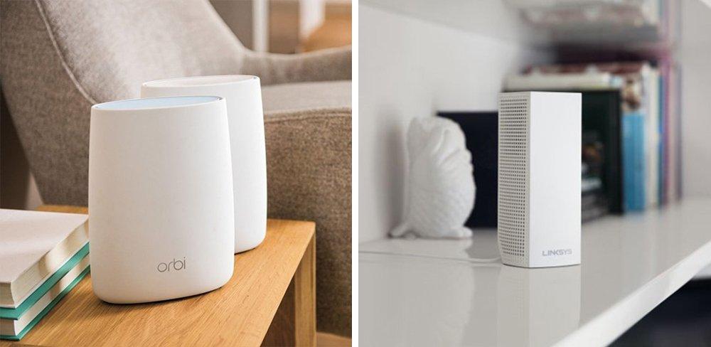 Orbi vs Velop WiFi Mesh Router Comparison