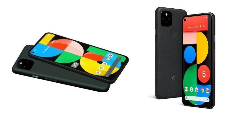 Pixel 5a vs Pixel 5 design