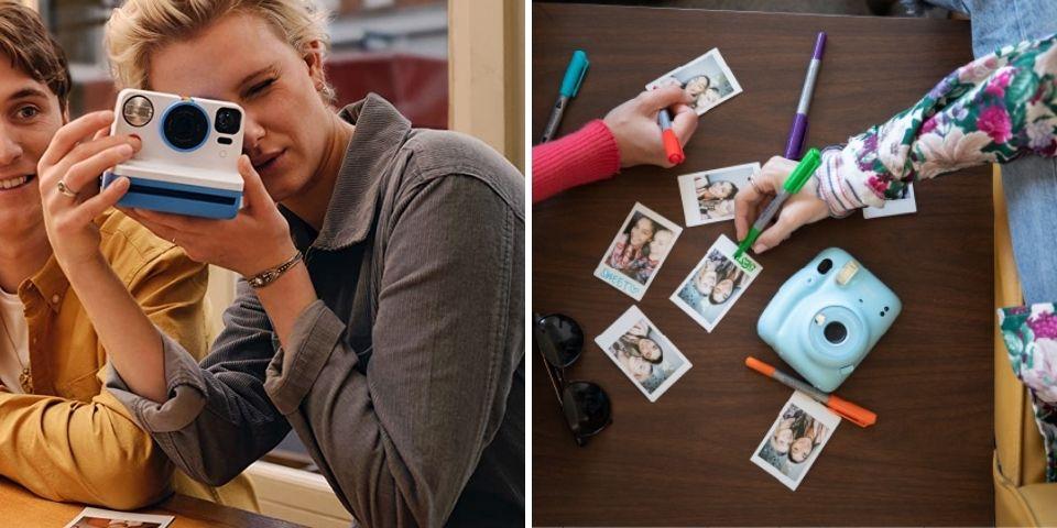 Polaroid Now vs Fujifilm Instax