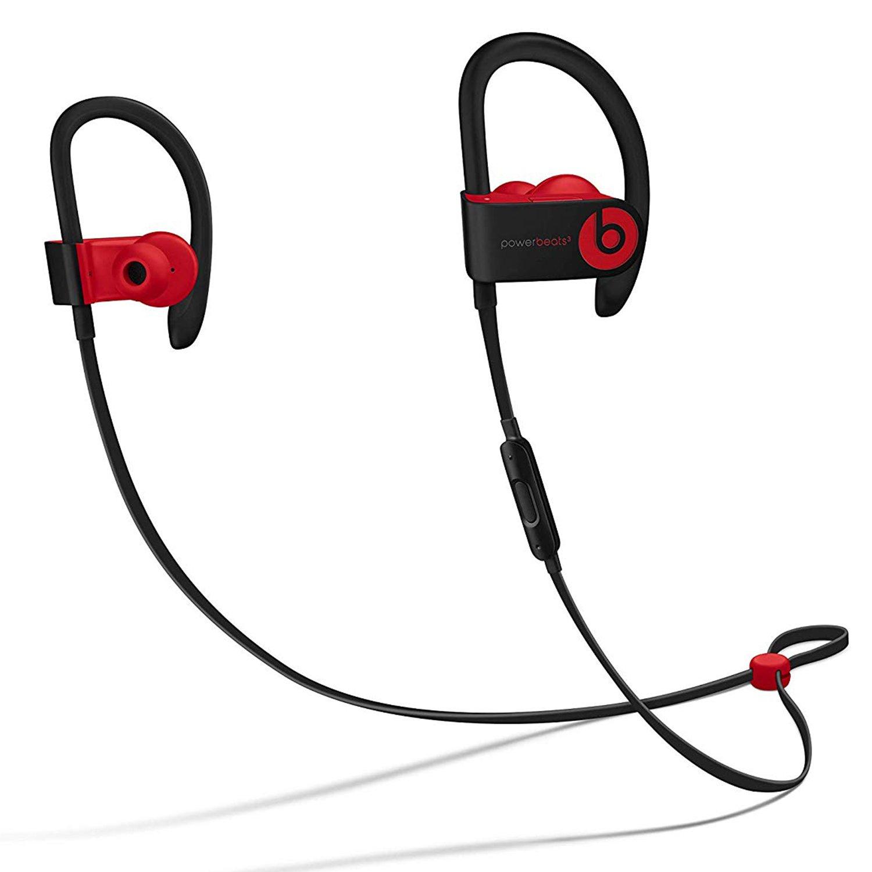 Powerbeats 4 Wireless Earphones - Defiant Black-Red