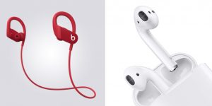Powerbeats 4 vs AirPods Wireless Earbuds Comparison