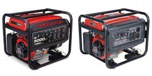 Predator Generator 9000 vs 8750 Comparison