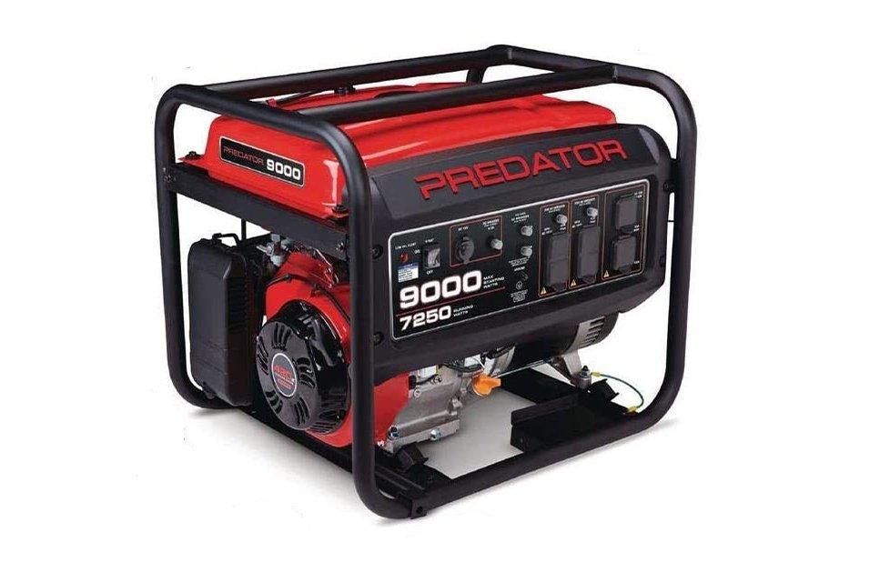 Predator Generator 9000 vs 8750 Engine and Power