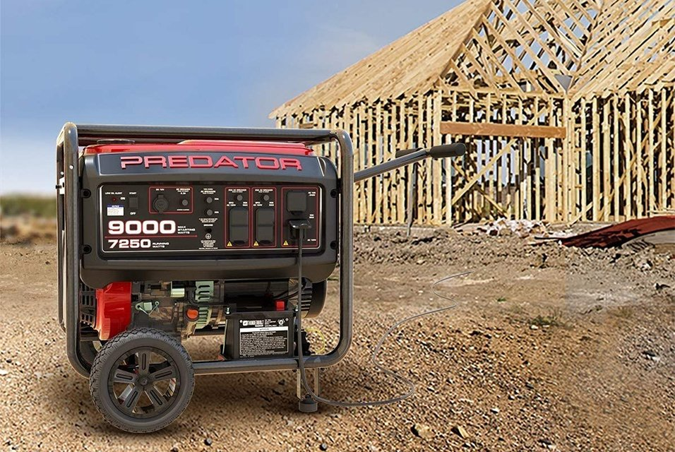 Predator Generator 9000 vs 8750 Features