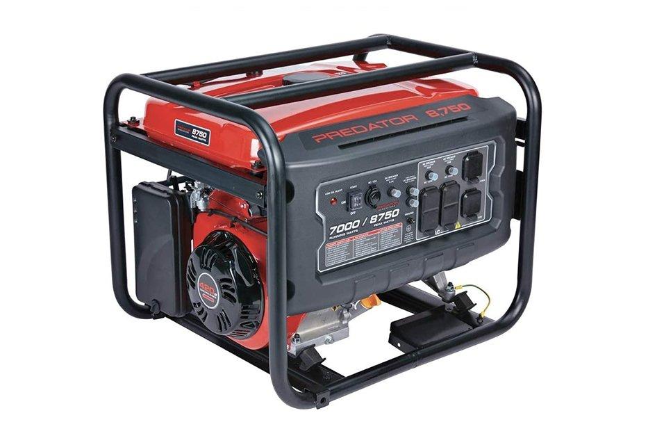 Predator Generator 9000 vs 8750 Portability
