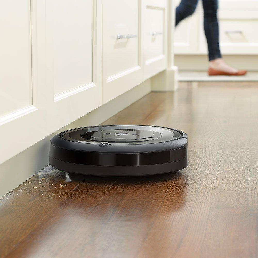 Roomba 677 vs e5 Cleaning Power