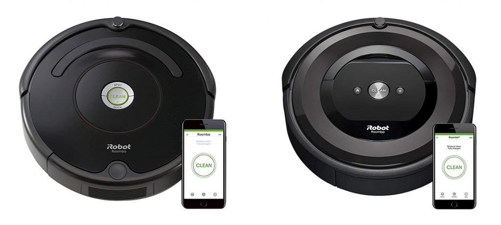 Roomba 675 vs e5 Design