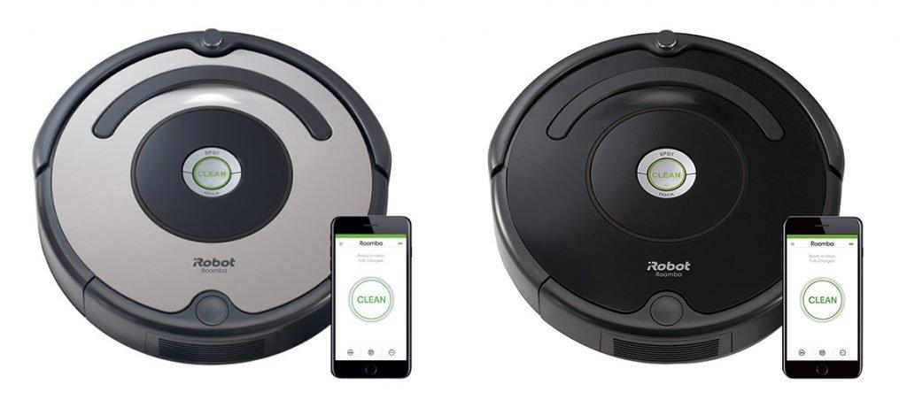 Roomba 677 vs 675 Design
