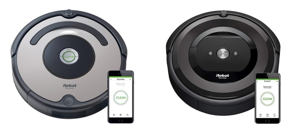 Roomba 677 vs e5 Design
