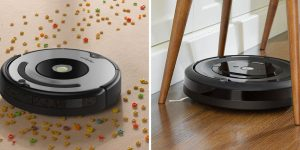 Roomba 677 vs e5 Comparison