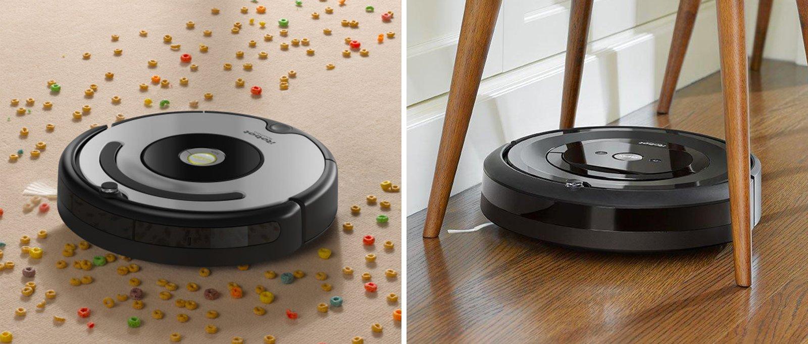 Roomba 677 vs e5 Comparison