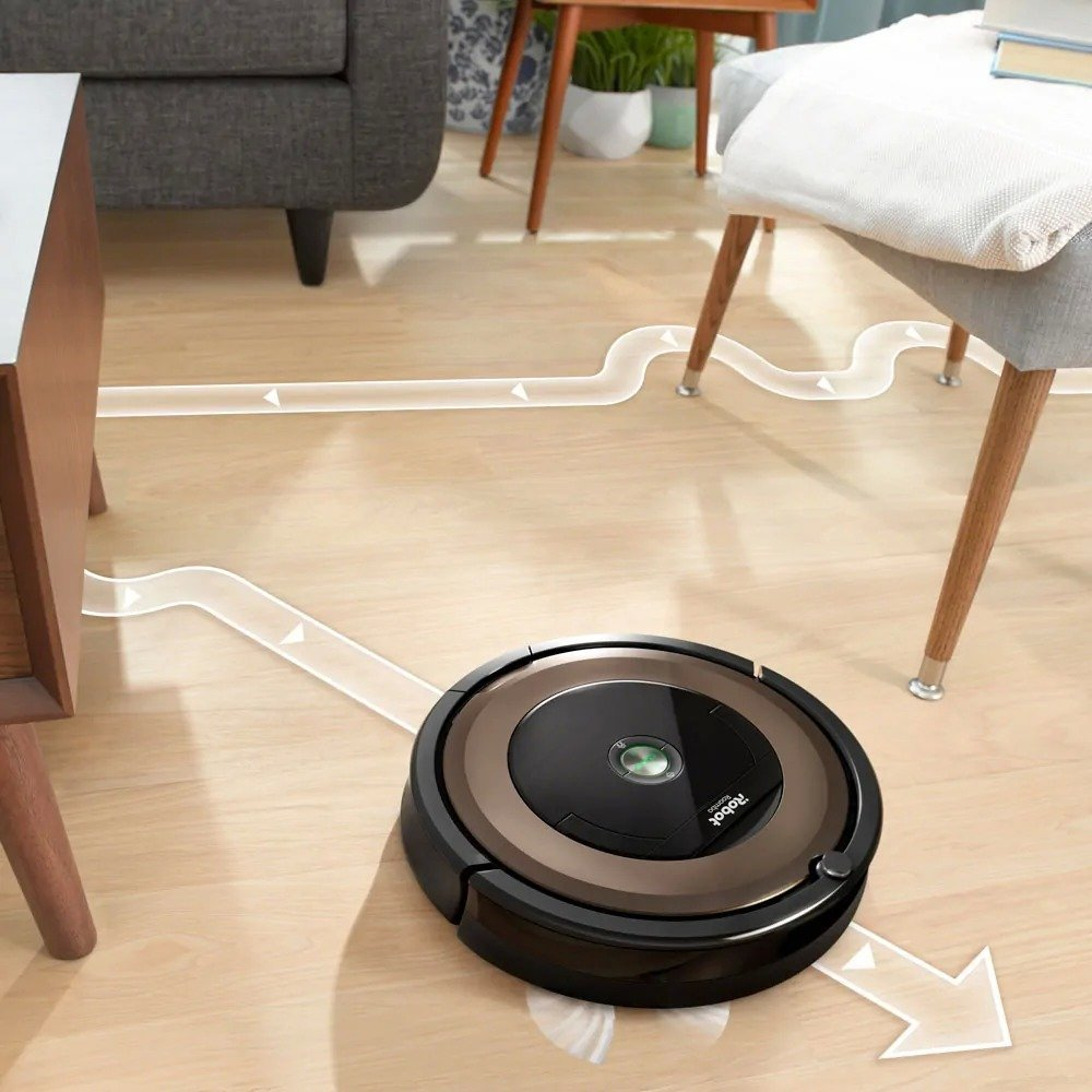 Roomba 890 mapping