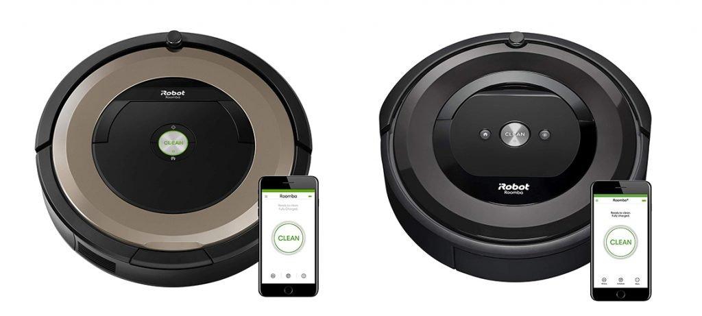 Roomba 891 vs e5 Design