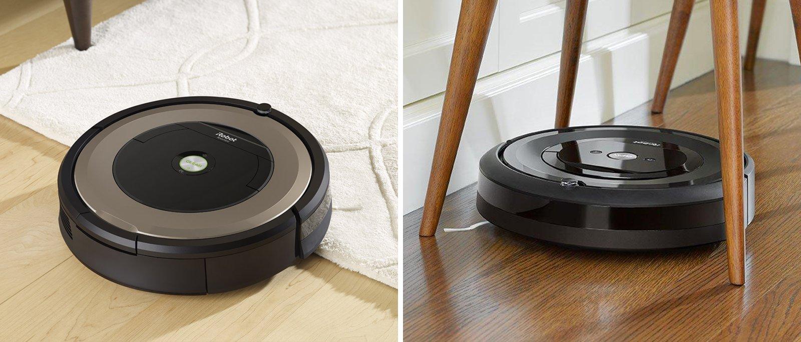 Roomba 891 vs e5 Comparison