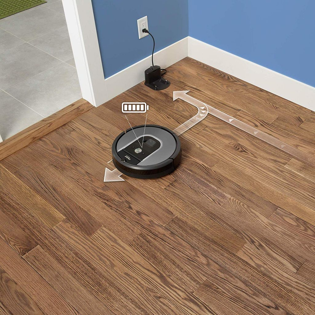 Roomba 960 Recharge and Resume