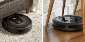 Roomba 985 vs e5 Comparison