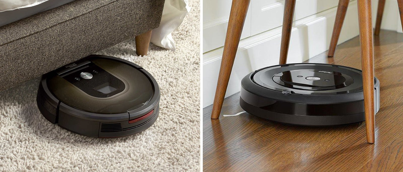 Roomba 985 vs e5 Comparison