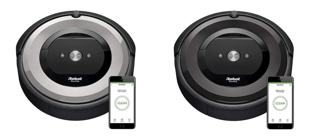 Roomba e5 5134 vs 5150 Design